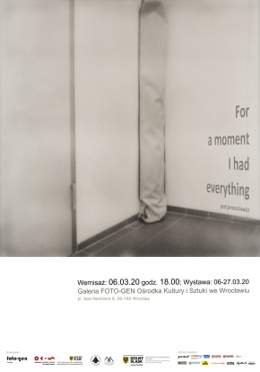 "Prot Jarnuszkiewicz ""For a moment I had everything"""
