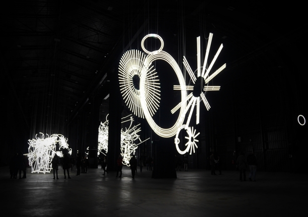 "Cerith Wyn Evans ""The Illuminating Gas ..."""